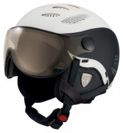 Cairn Cosmos Chromax, Premium Edition, ski helmet with Visor, White/Black