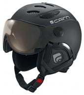 Cairn Cosmos Chromax, Mat Black, ski helmet with Visor