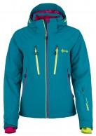 Kilpi Lillian womens ski jacket, turquoise