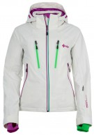 Kilpi Lillian womens ski jacket, white
