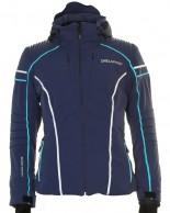 DIEL Bella  ski jacket, women, blue