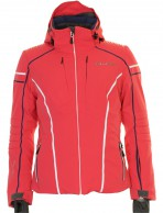 DIEL Bella  ski jacket, women, red