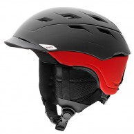 Smith Variance ski helmet, Black/red