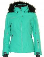DIEL Cybilla  ski jacket, women,green