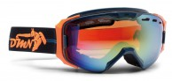 Demon Absolute ski goggle, blue/orange