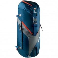 ABS Vario 45+5 Zip On, bag for backpack, blue/orange