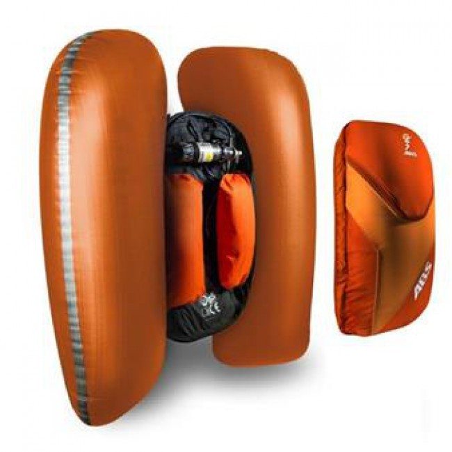 ABS Vario Base Unit w. velcro, backpack, steel