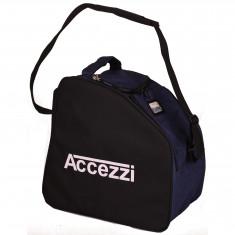 Accezzi Arosa, boot- and helmet bag, blue/black