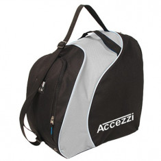 Accezzi Sapporo, boot- and helmet bag, black/grey