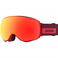 Atomic Revent Q Stereo, goggles, red