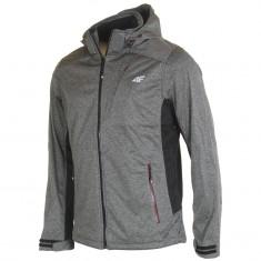 4F Brady, softshell jacket, men, grey