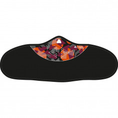 Cairn Anamur Facemask, Black/Red Camo