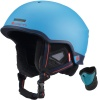 Cairn Centaure Rescue, ski helmet, black wood