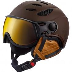 Cairn Cosmos Evolight, ski helmet with visor, chocolate