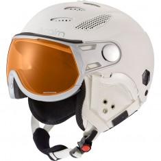 Cairn Cosmos Evolight, ski helmet with visor, mat white