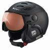 Cairn Cosmos Photochromic, ski helmet with Visor, Crystal Riviera