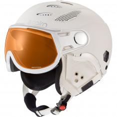 Cairn Cosmos Photochromic, ski helmet with Visor, mat white