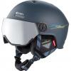 Cairn Eclipse Rescue, ski helmet with Visor, midnight red