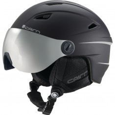 Cairn Electron, ski helmet with visor, junior, mat black