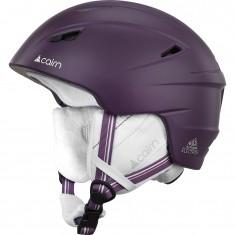 Cairn Electron, ski helme, mat plum