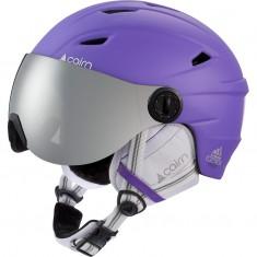Cairn Electron, ski helmet with visor, junior, ultraviolet