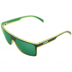 Cairn Fase Sunglasses, Black/Green