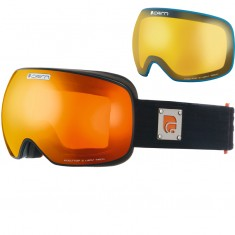 Cairn Gravity, goggles, Mat Black Orange
