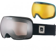 Cairn Gravity, goggles, Mat Black Silver
