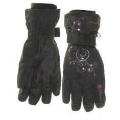 Cairn Keira W, gloves, women, Black Cranberry