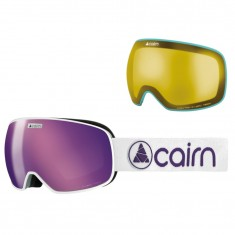 Cairn Magnetik, goggles, Mat Silver Purple