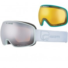 Cairn Magnetik, goggles, Mat White Silver