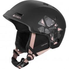 Cairn Meteor, Ski Helmet, Black Powder Pink Leaf