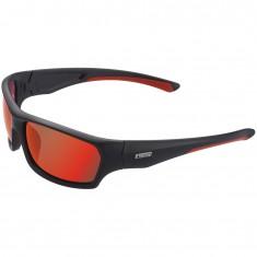 Cairn Peak Solaire Polarized sunglasses, Black Red