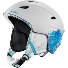 Cairn Profil, ski helmet, mat blue flower