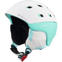 Cairn Pulsar, ski helmet, White Mint Techno