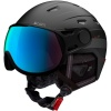 Cairn Shuffle Evolight, ski helmet with visor, midnight orange