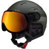 Cairn Shuffle Evolight, ski helmet with visor, white