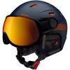 Cairn Shuffle Evolight, ski helmet with visor, forest night