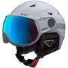 Cairn Shuffle Evolight, ski helmet with visor, black