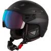 Cairn Shuffle S-Visor Evolight NXT, ski helmet with Visor, midnight patriot