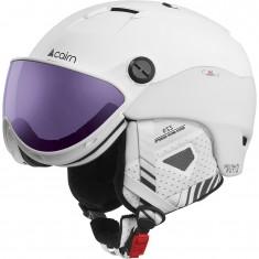 Cairn Spectral Visor Magnet 2 IUM, ski helmet with visor, white plum