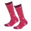 Cairn Spirit ski socks, 2-pack, kids, black snow