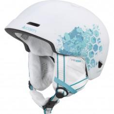 Carin Meteor, Ski Helmet, Mat Withe