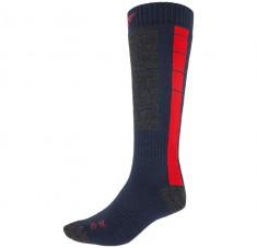 4F Mens Ski Socks, blue/red