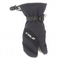 Cold 3-Finger, ski gloves, junior, black