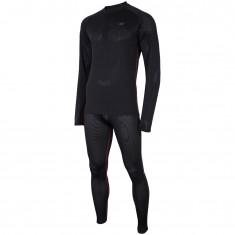 4F Cooldry ski underwear men, set, black
