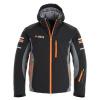 Deluni Challenger 3, ski jacket, men, orange