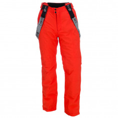 Deluni ski pants for men, red