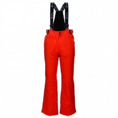Deluni ski pants for women, red