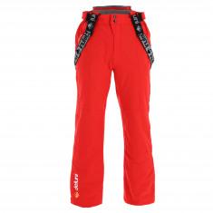 Deluni ski pants, plus size, red